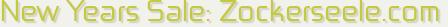 new years sale: zockerseele.com
