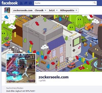 zockerseele.com: jetzt mit facebook-page!